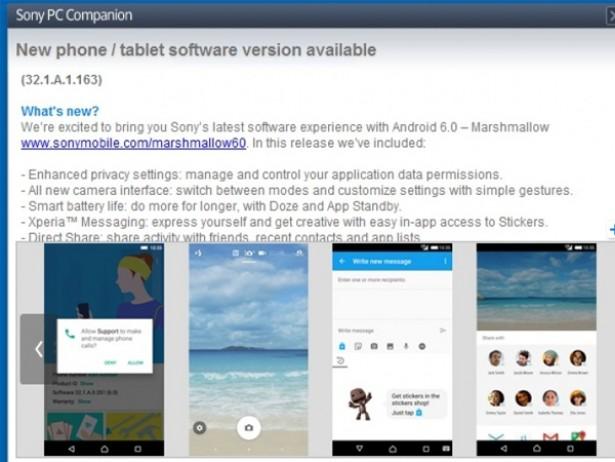 twsonyxperiaz5开始更新android